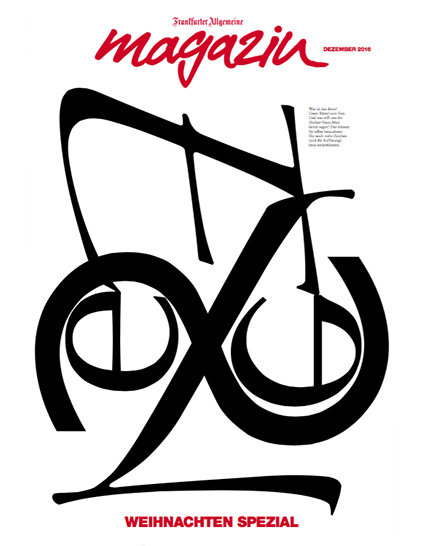Frankfurter Allgemeine Magazine Cover