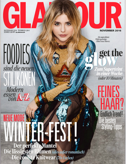 Glamour Germany Cover November