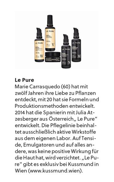 Salzburger Nachrichten - LE PURE