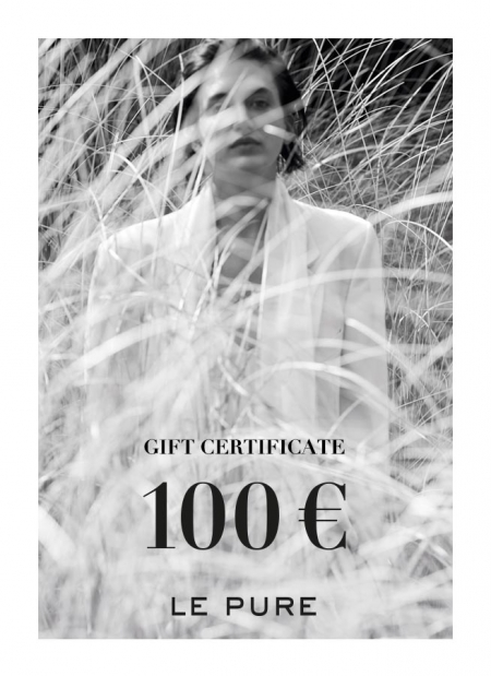 gift certificate LE PURE