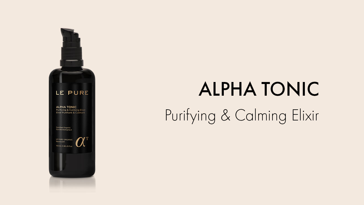LE PURE Product Alpha Tonic Purifying & Calming Elixir