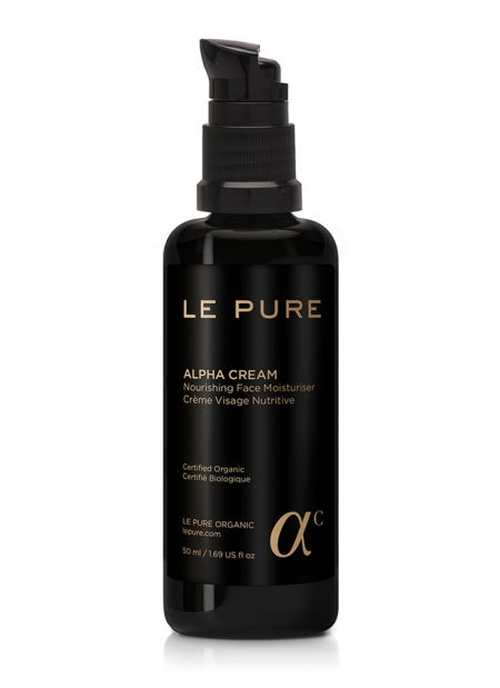 LE PURE Product Alpha Cream Crema Viso Nutriente