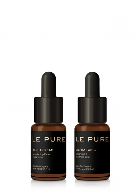 the men essentials LE PURE products
