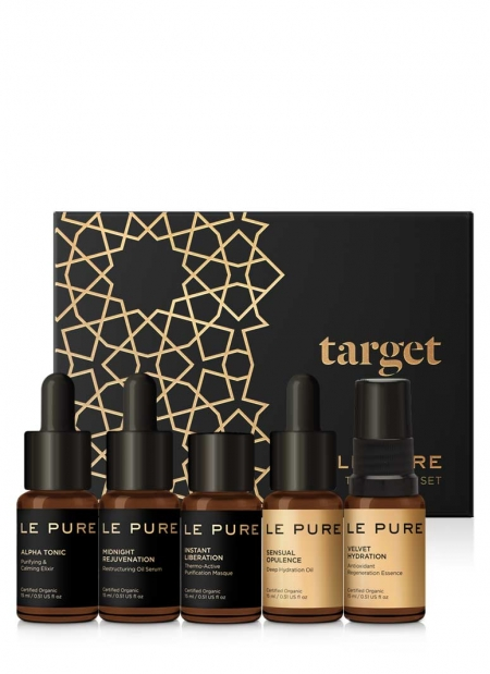 LE PURE treatment set target