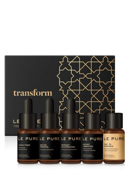 LE PURE treatment set transform