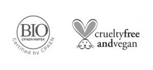 cruelty free and bio certified logo