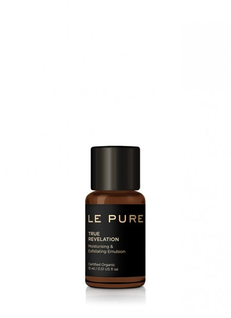 exfoliating emulsion true revelation LE PURE