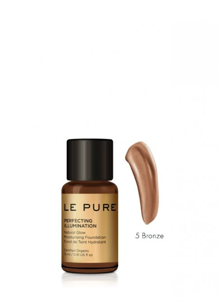 adaptive makeup cream in 6 colors - perfecting illumination color bronze - LE PURE