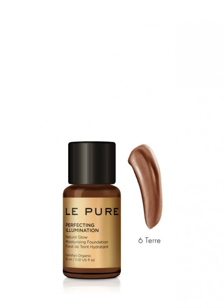 adaptive makeup cream in 6 colors - perfecting illumination color terre - LE PURE