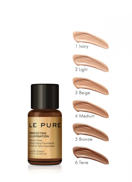 adaptive makeup cream in 6 colors - perfecting illumination - LE PURE
